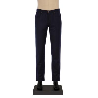 Hiltl - Hiltl 5-Cep Lacivert Yün - Pamuk Pantolon