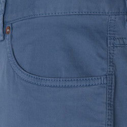 Hiltl 5 Cep Mavi Twill Pantolon - Thumbnail