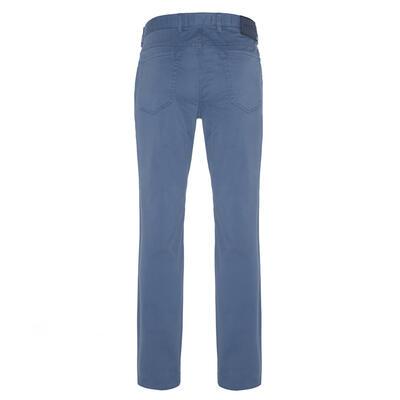Hiltl - Hiltl 5 Pocket Blue Twill Trousers (1)