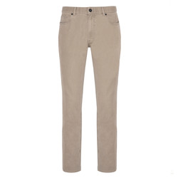 Hiltl - Hiltl 5 Pocket Colored Denim Beige Trouser