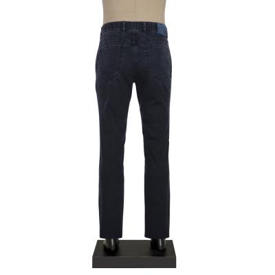 Hiltl - Hiltl 5CEP MICRO DOKULU LACIVERT Pantolon (1)