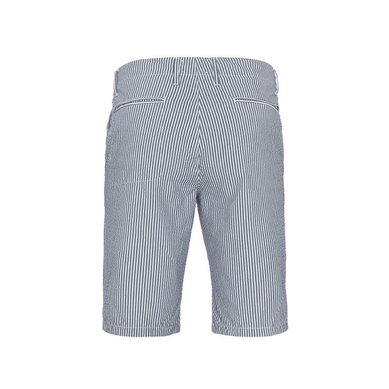Hiltl - Hiltl Bermuda Laci Beyaz Çizgili Pantolon (1)
