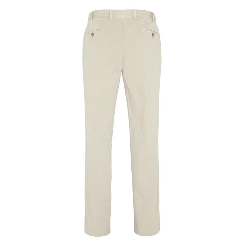 Hiltl - Hiltl Chino Bej Seersucker Pantolon (1)