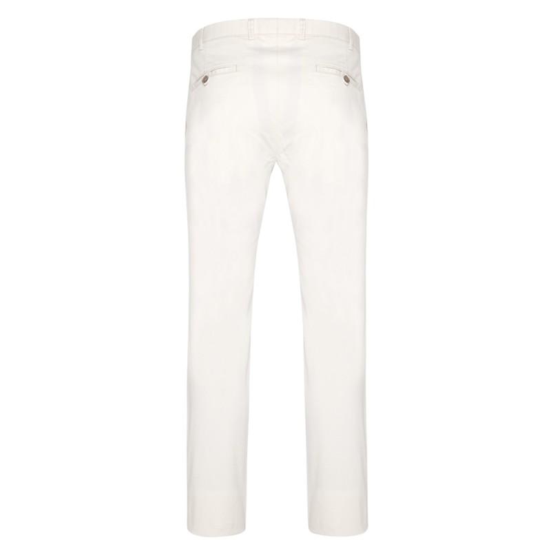 Hiltl - Hiltl Chino Bej Slim Fit Pamuk Elastan Pantolon (1)