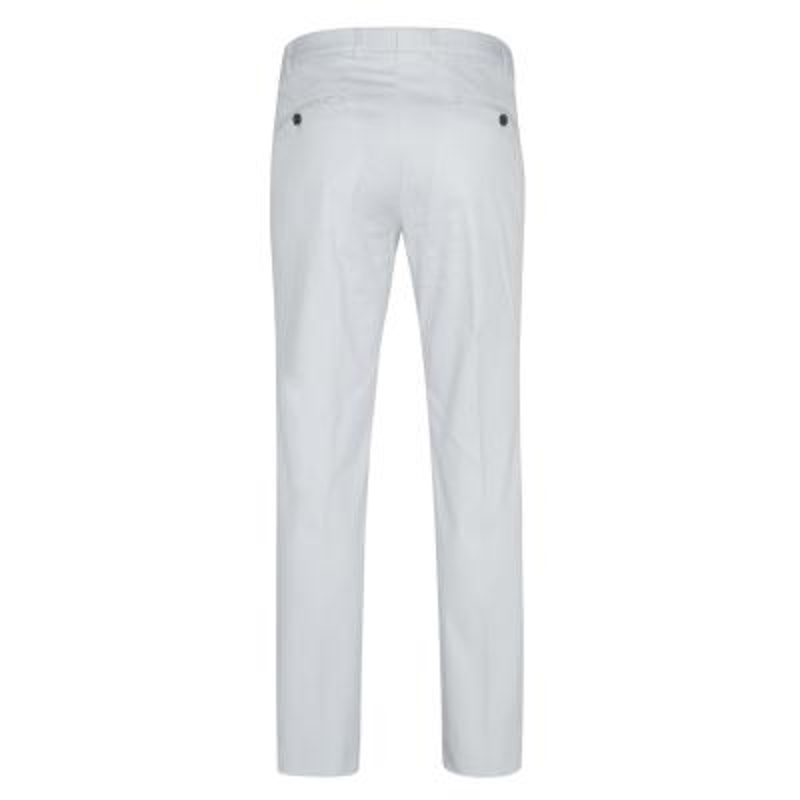Hiltl - Hiltl Chino Buz Mavisi Slim Fit Süper Fine Twill Pamuk Elastan Pantolon (1)