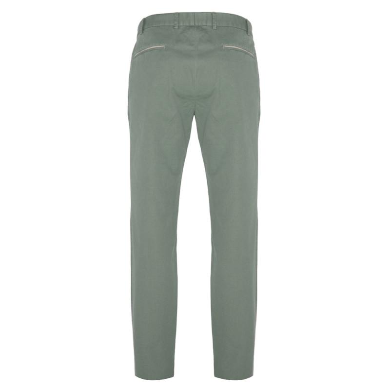 Hiltl - Hiltl Chino Çağla Yeşil Ripstop Twill Pantolon (1)