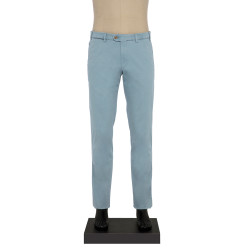 Hiltl - Hiltl CHINO CONTRAST TWILL BUZ MAVI Pantolon