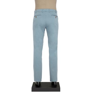 Hiltl - Hiltl CHINO CONTRAST TWILL BUZ MAVI Pantolon (1)