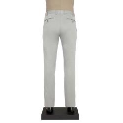 Hiltl CHINO CONTRAST TWILL GRI Pantolon - Thumbnail