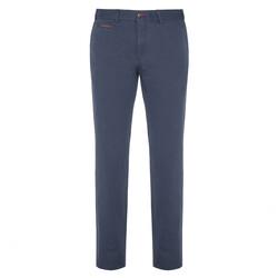 Hiltl - Hiltl Chino Havacı Mavi Ripstop Twill Pantolon