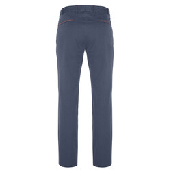 Hiltl - Hiltl Chino Havacı Mavi Ripstop Twill Pantolon (1)