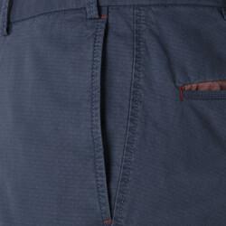 Hiltl Chino Havacı Mavi Ripstop Twill Pantolon - Thumbnail