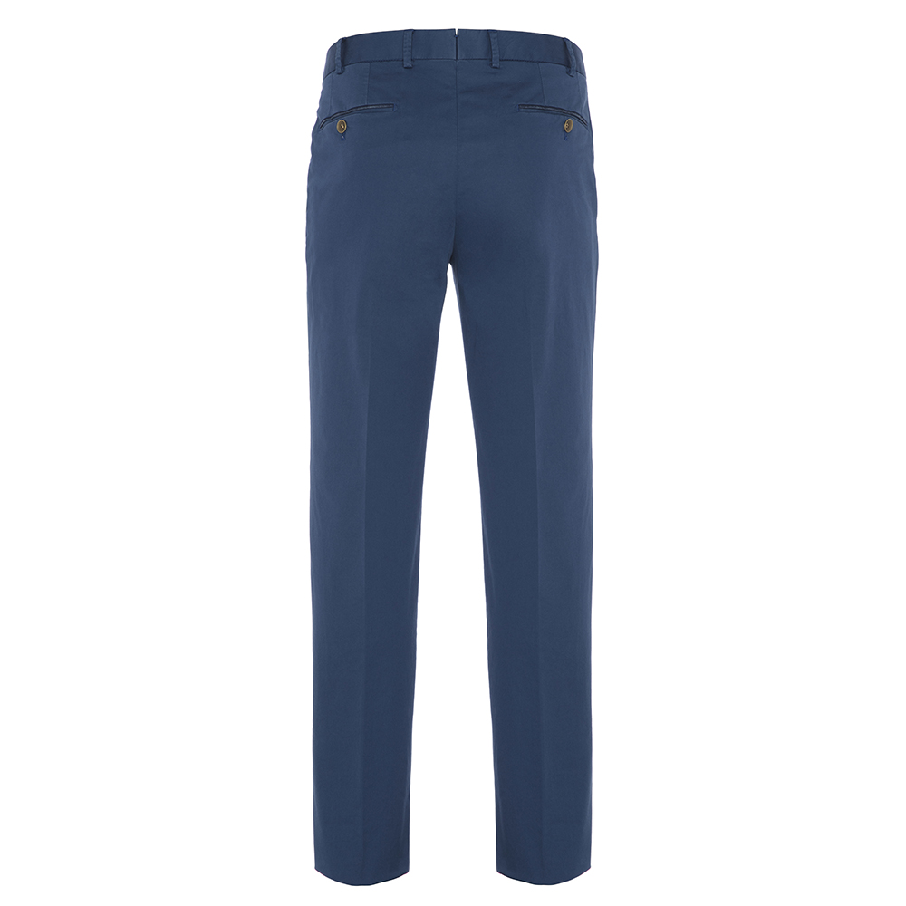 Hiltl Chino Havacı Mavi Supima Pantolon