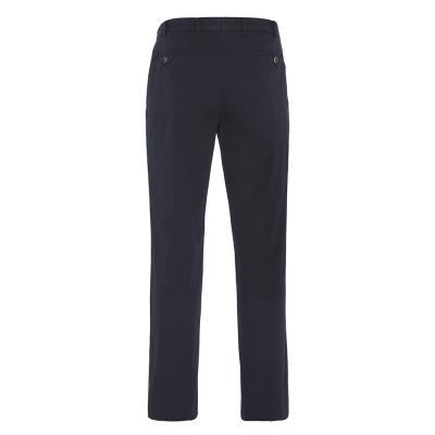 Hiltl - Hiltl Chino Lacivert Seersucker Pantolon (1)