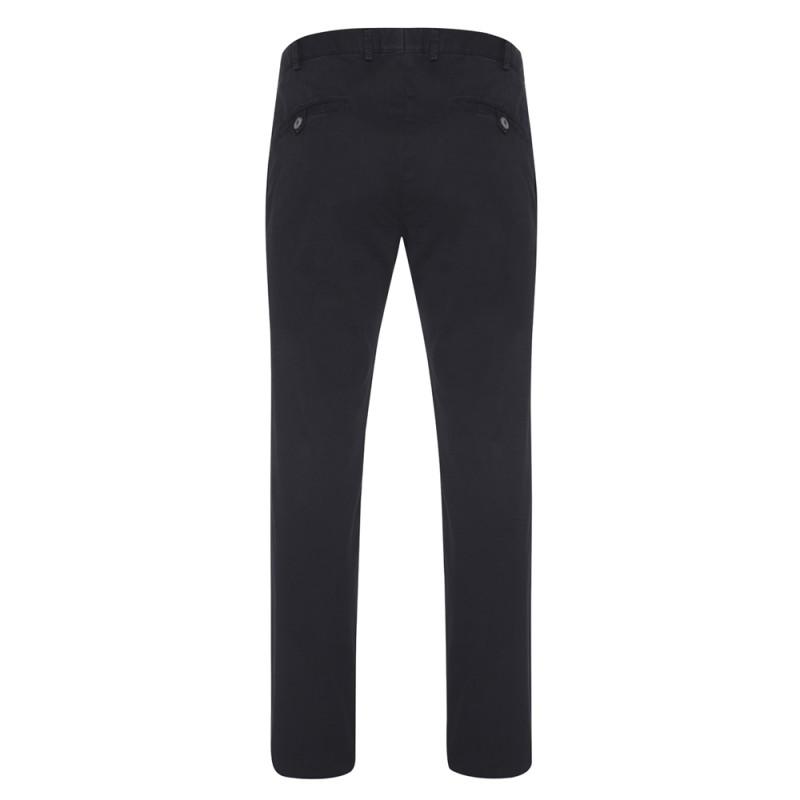 Hiltl - Hiltl Chino Lacivert Slim Fit Pamuk Elastan Pantolon (1)