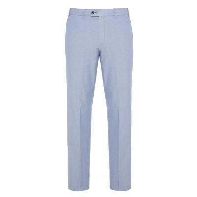 Hiltl Chino Mavi Comfort Oxford Pamuk Elastan Pantolon