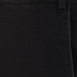 Hiltl Chino Micro Desenli Füme Pamuk Pantolon - Thumbnail