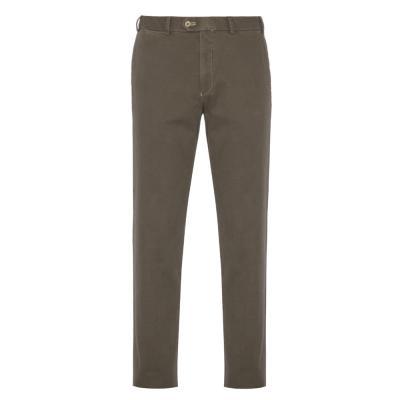 Hiltl - Hiltl Chino Micro Desenli Haki Pamuk Pantolon