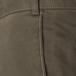 Hiltl Chino Micro Desenli Haki Pamuk Pantolon - Thumbnail