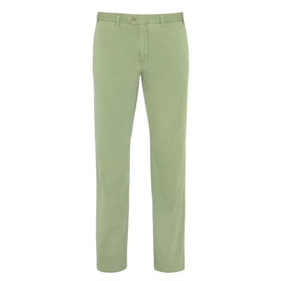 Hiltl Chino Yeşil Seersucker Pantolon