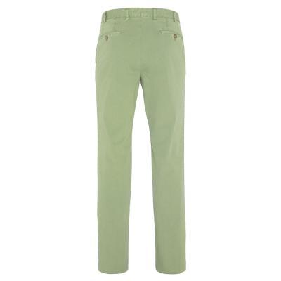 Hiltl - Hiltl Chino Yeşil Seersucker Pantolon (1)