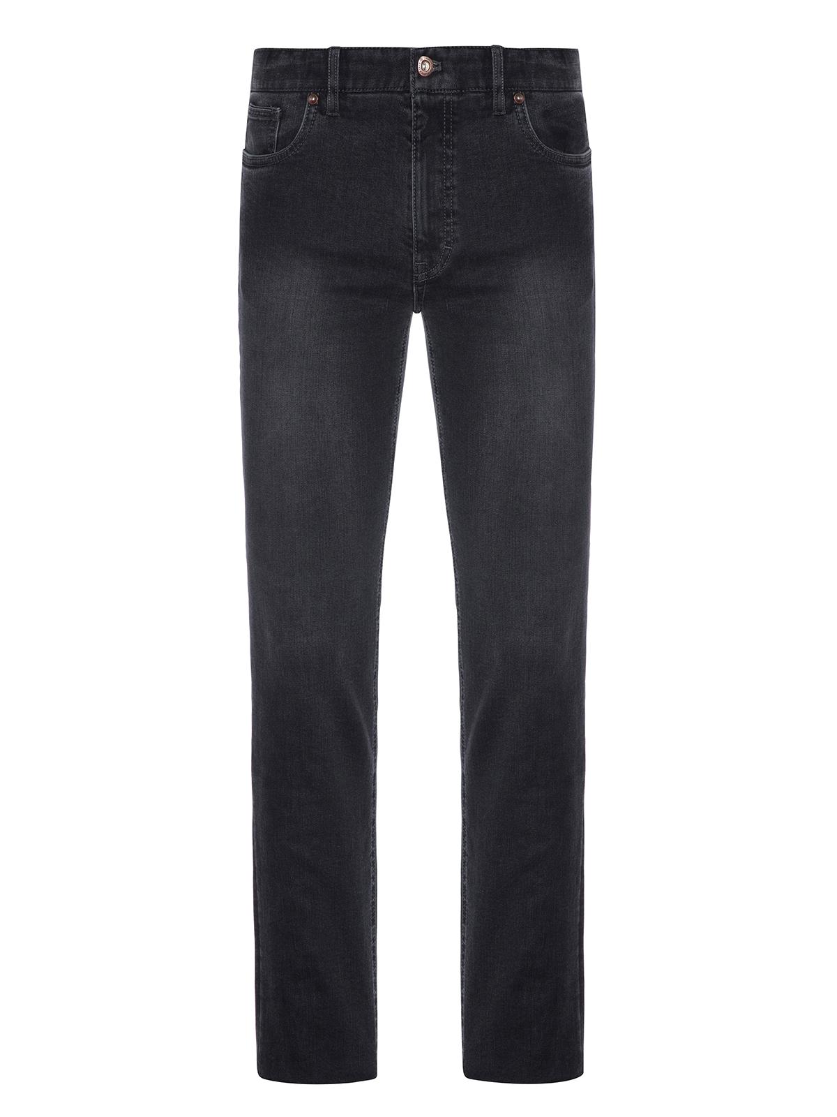 Hiltl - Hiltl Dry Denim Coton Elastane Füme Parker 5 Cep Regular Fit Pantolon