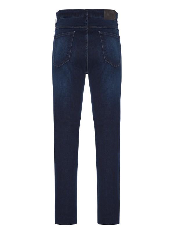Hiltl - Hiltl Dry Denim Coton Elastane Lacivert Parker 5 Cep Regular Fit Pantolon (1)