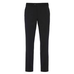 Hiltl - Hiltl Gabardin Siyah Yün Pantolon