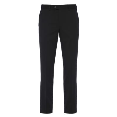 Hiltl Gabardin Siyah Yün Pantolon
