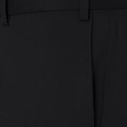 Hiltl Gabardin Siyah Yün Pantolon - Thumbnail
