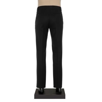 Hiltl - Hiltl Gabardin Siyah Yün Pantolon (1)