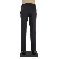 Hiltl - Hiltl Gri Dokulu Yün Pantolon (1)