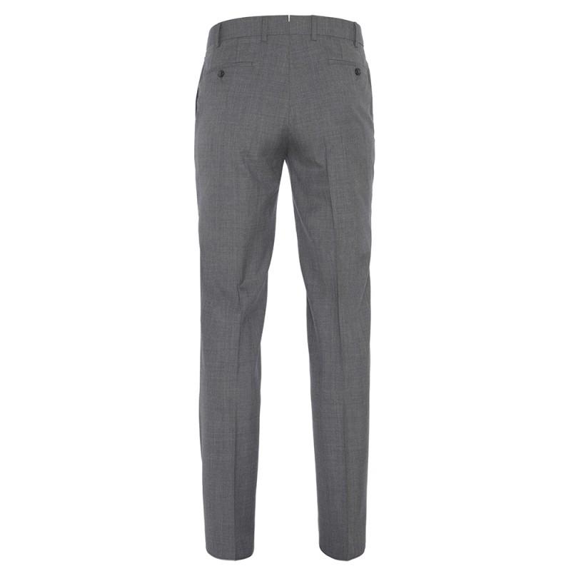 Hiltl - Hiltl Gri Yün 120s Pantolon (1)