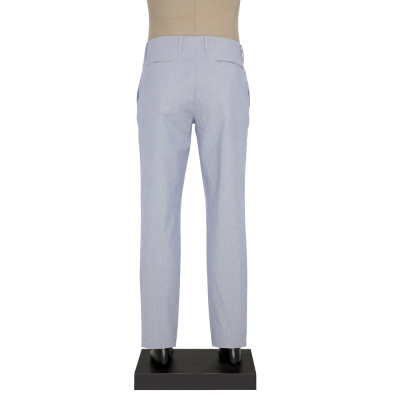 Hiltl - Hiltl IPLI BEL BEYAZ MAVI CIZGILI Pantolon (1)