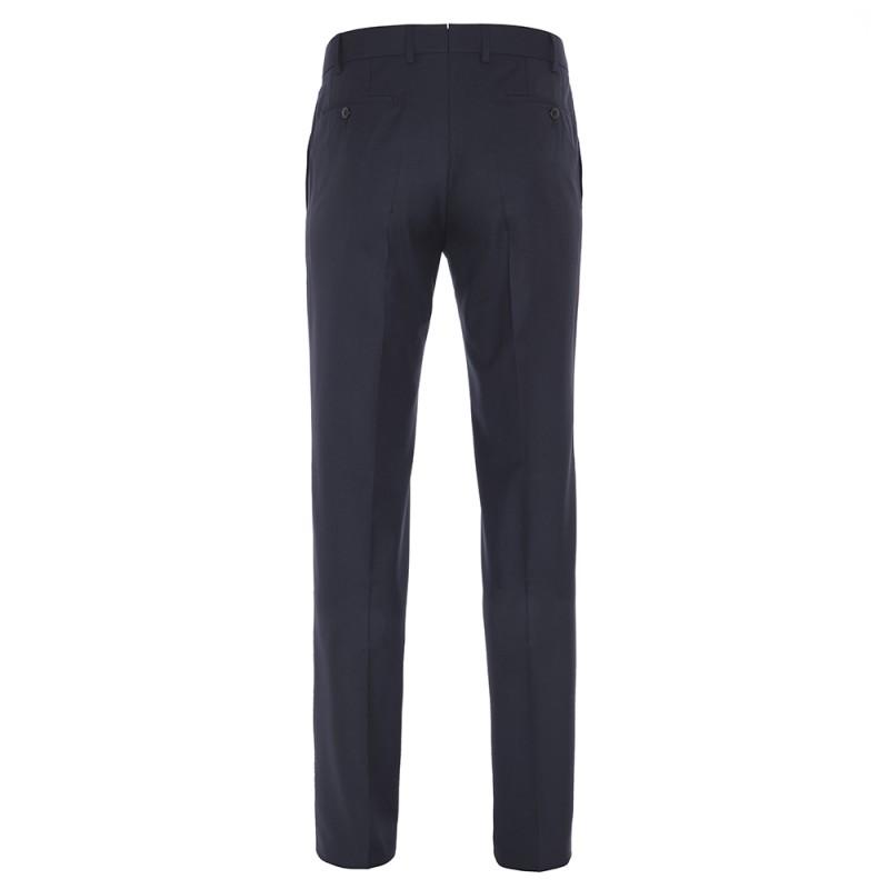 Hiltl - Hiltl Lacivert Yün 120s Pantolon (1)