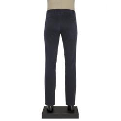 Hiltl Chino Lacivert Desenli Slim Fit Pantolon - Thumbnail