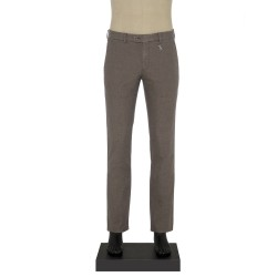 Hiltl Chino Koyu Bej Slim Fit Pantolon - Thumbnail