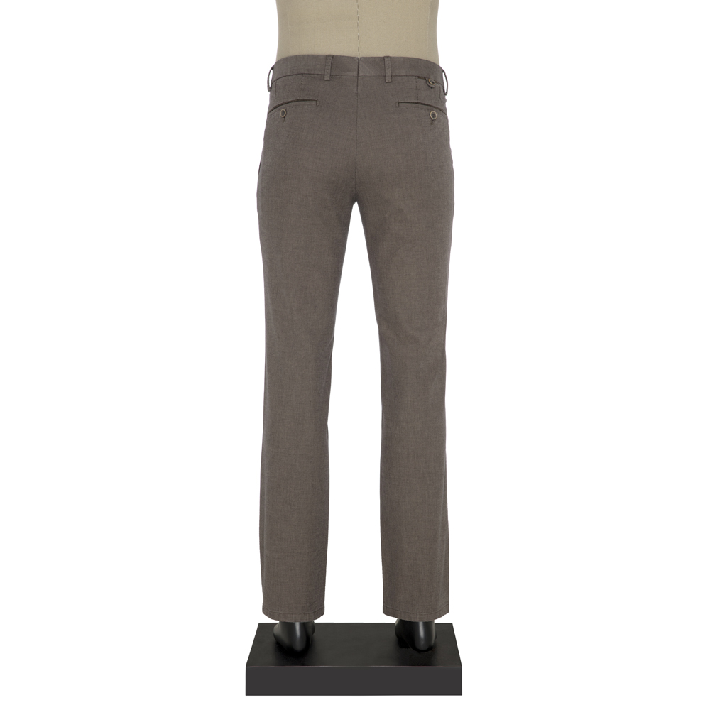 Hiltl Chino Koyu Bej Slim Fit Pantolon