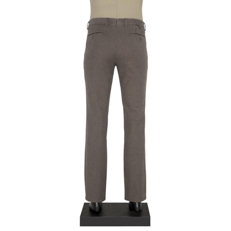 Hiltl - Hiltl Chino Koyu Bej Slim Fit Pantolon (1)