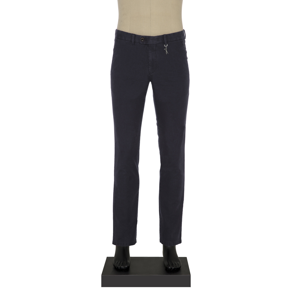 Hiltl Chino Lacivert Slim Fit Pantolon