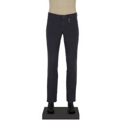 Hiltl Chino Lacivert Slim Fit Pantolon - Thumbnail
