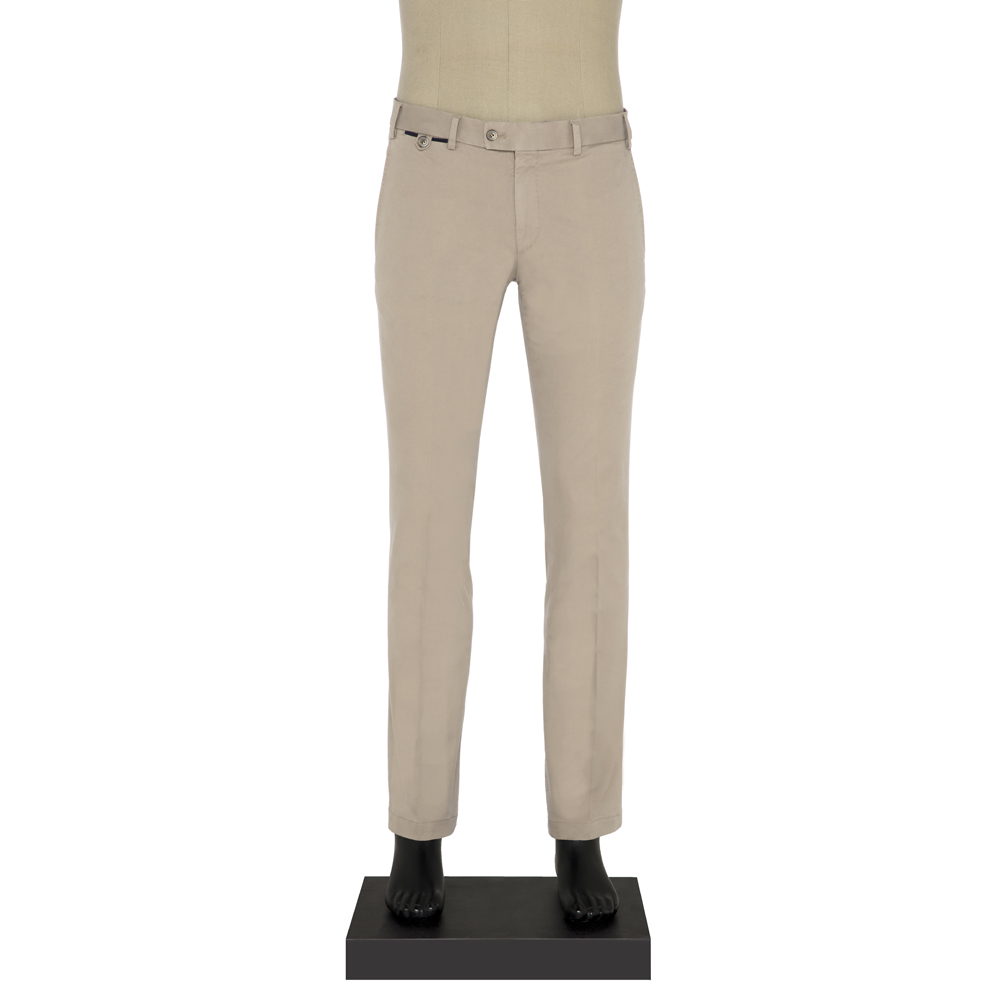 Hiltl Chino Bej Slim Fit Pantolon