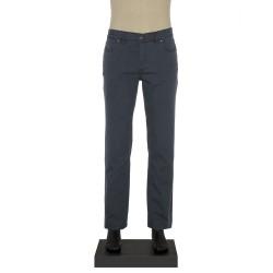 Hiltl 5 Cep Lacivert Yıkamalı Denim Pantolon - Thumbnail