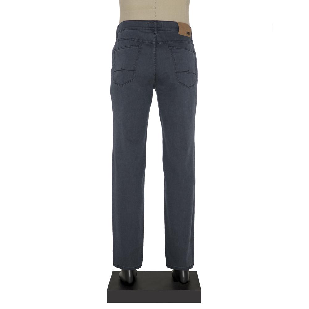 Hiltl 5 Cep Lacivert Yıkamalı Denim Pantolon