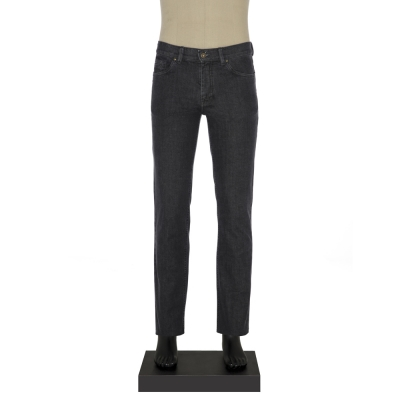 Hiltl 5 Cep Füme Denim Pantolon