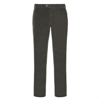 Hiltl - Hiltl Phantom Cord Pamuk Yeşil Chino Slim Fitt Pantolon
