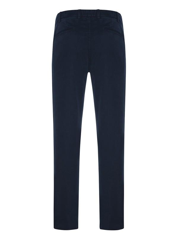 Hiltl - Hiltl Rugged Motion Coton Elastane Lacivert Stertch Tiago Chino Slim Fit Pantolon (1)