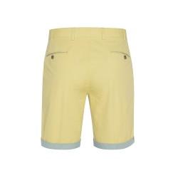Hiltl - Hiltl Sarı Ripstop Twill Pamuk Elastan Bermuda (1)