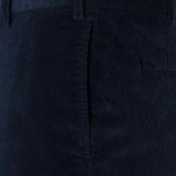 Hiltl Supima Cord Pamuk Lacivert Chino Pantolon - Thumbnail