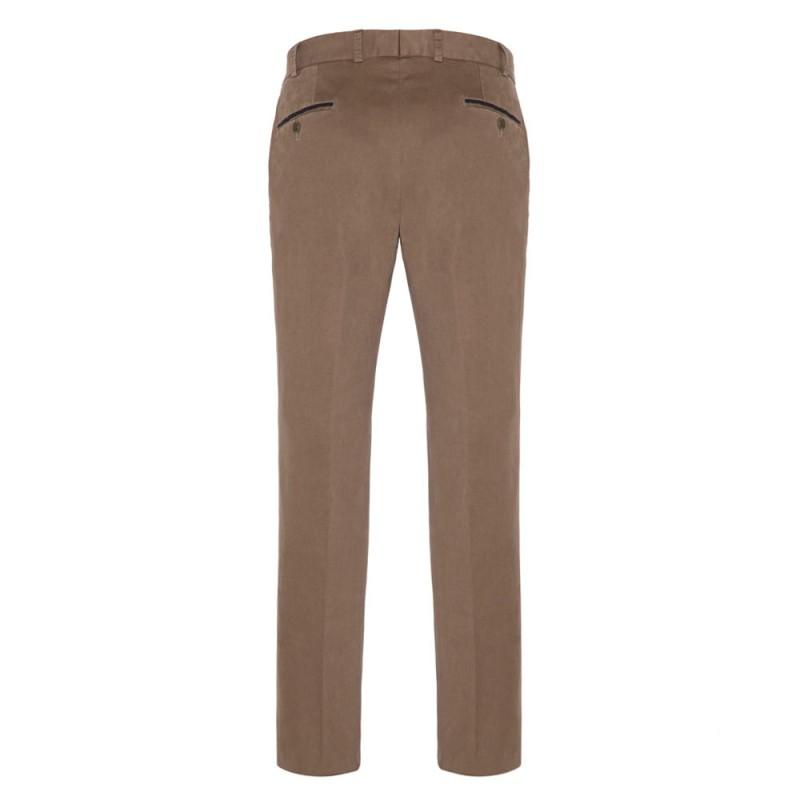 Hiltl - Hiltl Supima Cotton Açık Kahve Pantolon (1)